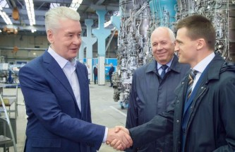 Мэр Москвы поздравил НПЦ «Салют» с юбилеем