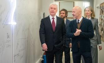 Сергей Собянин посетил киношколу Федора Бондарчука