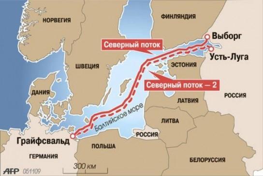 Финляндия выдала окончательное разрешение на прокладку «Северного потока-2»