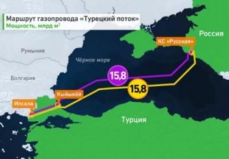 Украина в печали: «Газпром» получил разрешение на строительство второй ветки «Турецкого потока»