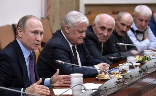 Путин пожелал новому руководству Дагестана успехов в борьбе с коррупцией