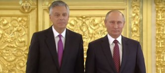 Посол США в России напомнил Конгрессу, что Путин силен как никогда