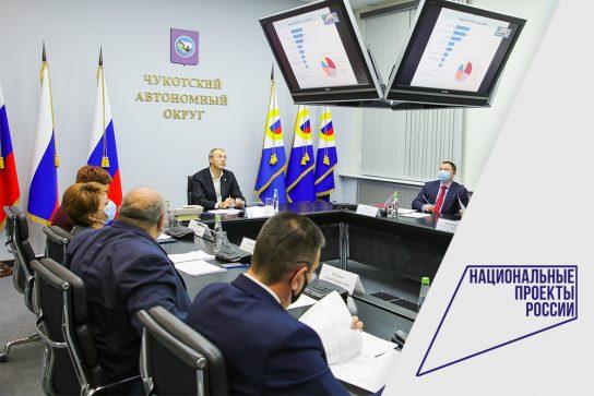 Роман Копин: руководители департаментов и главы муниципалитетов несут персональную ответственность за реализацию национальных проектов на Чукотке