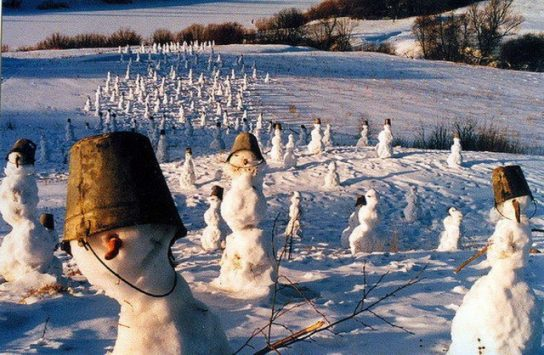 Россия применила в Британии средство массового поражения «Снеговичок»