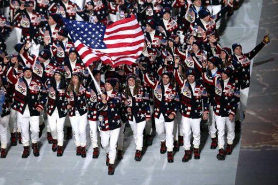 США на Олимпиаде — страна без команды