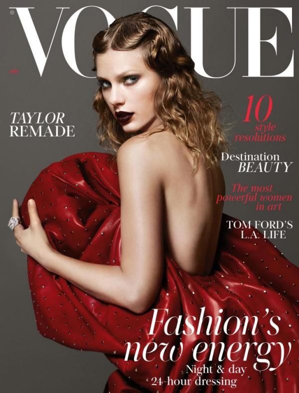 Преображение Тейлор Свифт на страницах Vogue