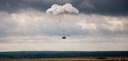 Парашютные системы для десантирования тяжелой техники есть только у ВДВ России