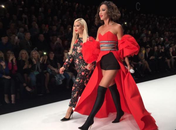 Ольга Бузова на модном показе Беллы Потемкиной