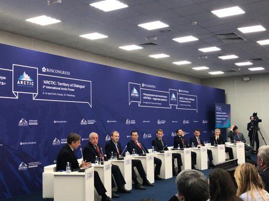 Губернатор Роман Копин обсудил на площадках пятого Международного Арктического форума перспективы развития Чукотки