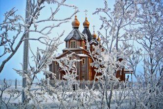 Благодатный огонь доставят на Чукотку