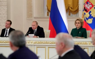 Губернатор Чукотки Роман Копин принял участие в итоговом заседании Госсовета