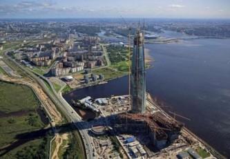 В Питере завершается строительство самого высокого небоскреба Европы