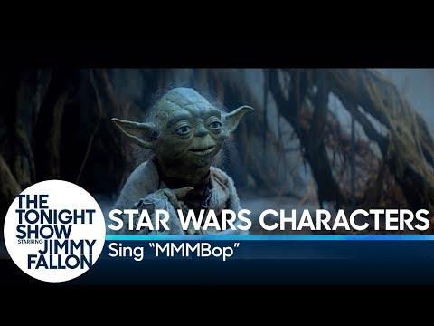 Персонажи «Звездных войн» спели сингл «MMMBop»