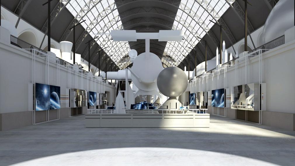 На ВДНХ доставили последний модуль макета орбитальной станции «Мир»