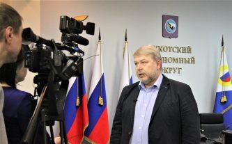 Евгений Подлесный: жители Чукотки видят работу властей, об этом говорят результаты президентских выборов