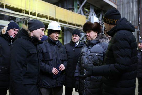 Юрий Трутнев ознакомился с ходом газификации Анадырской ТЭЦ