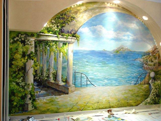 Художественная роспись – украшение любого интерьера