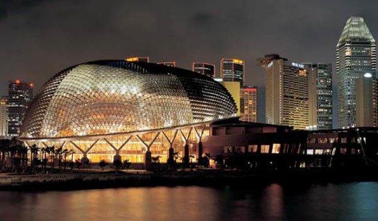 Театр Эспланада – тропическая экзотика в архитектуре