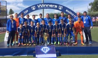 Московская команда «Чертаново» выиграла футбольный турнир в Мадриде