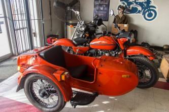 Советский мотоцикл «Урал» продолжает завоевывать Запад