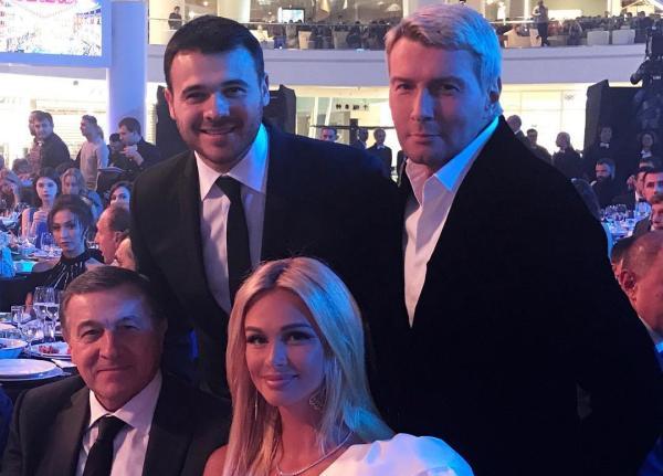 Лопырева и Басков на открытии РЦ Vegas