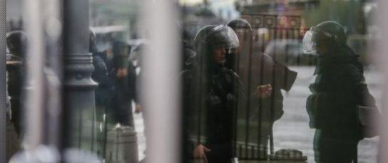 Большинство задержанных участников несанкционированного митинга в Москве отпущены домой