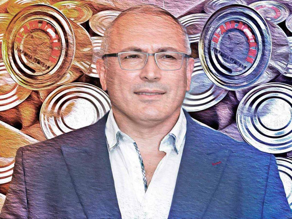 «Не для продажи»: «Вороватый прапор» Ходорковский отказался от бесплатной тушенки «Конкорда»