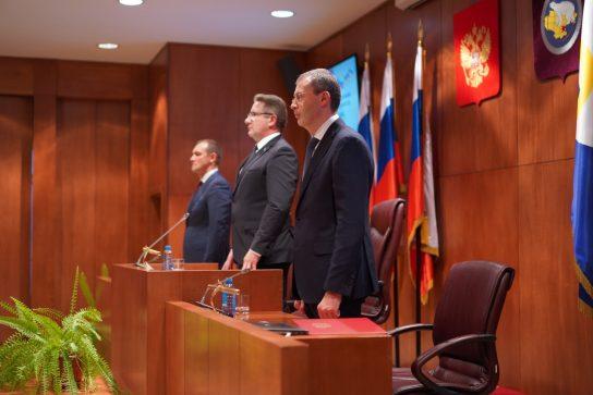 Кандидатуры двух первых заместителей Губернатора Чукотского автономного округа согласованы Думой региона