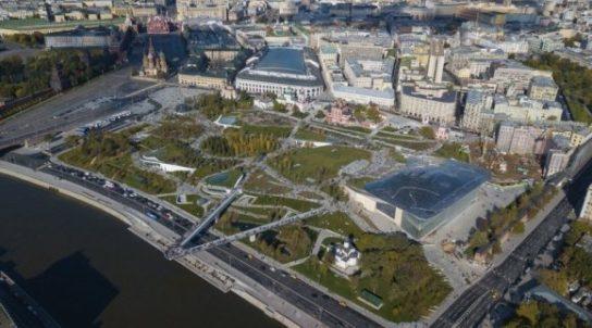 Опрос показал, как москвичи относятся к парку Зарядье