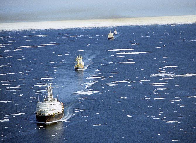 Россия и Китай задумались о создании «Полярного Шелкового пути»