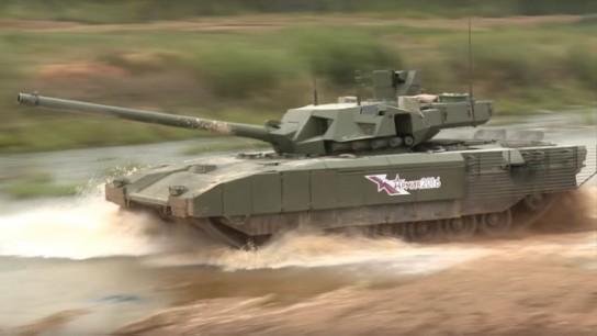 Первая партия танков «Армата» поступит на вооружение ВС РФ в 2020 году