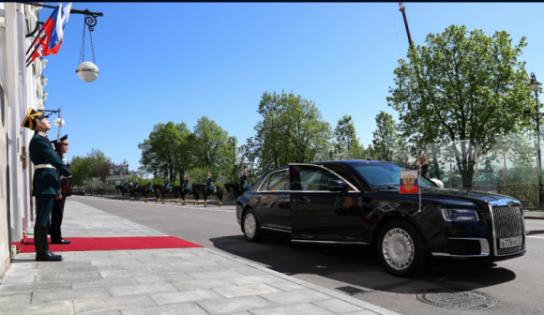 Daily Express: Путинский «Кортеж» лучше лимузина Трампа