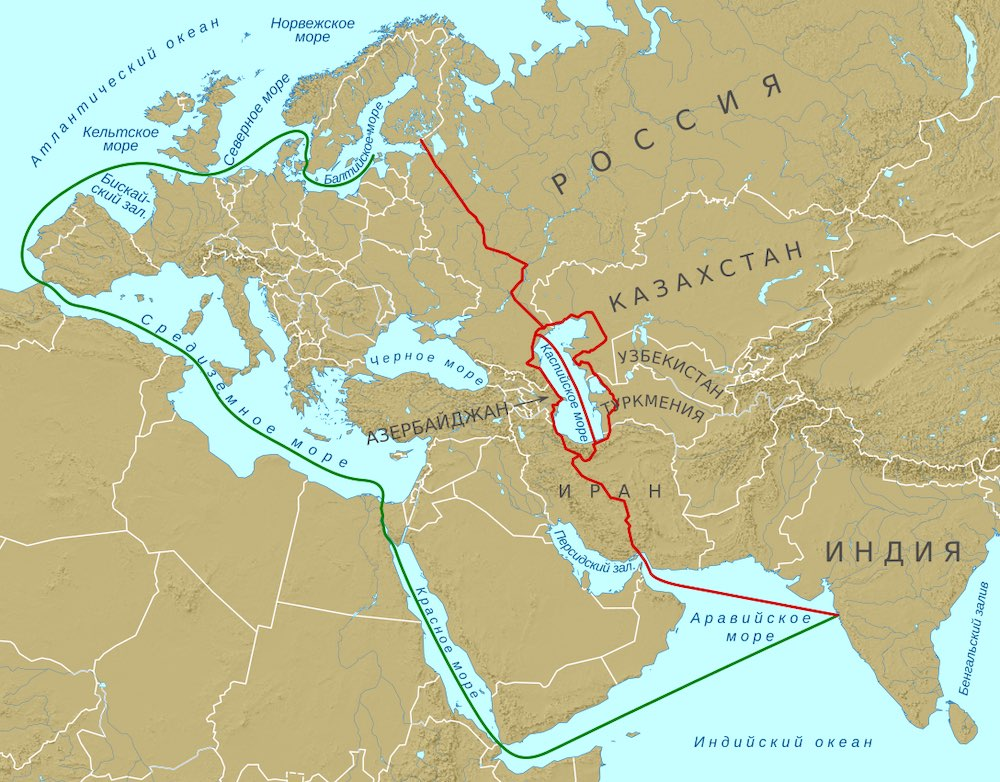 Россия, Индия и Иран обсудят проект транспортного коридора «Север-Юг» в ноябре