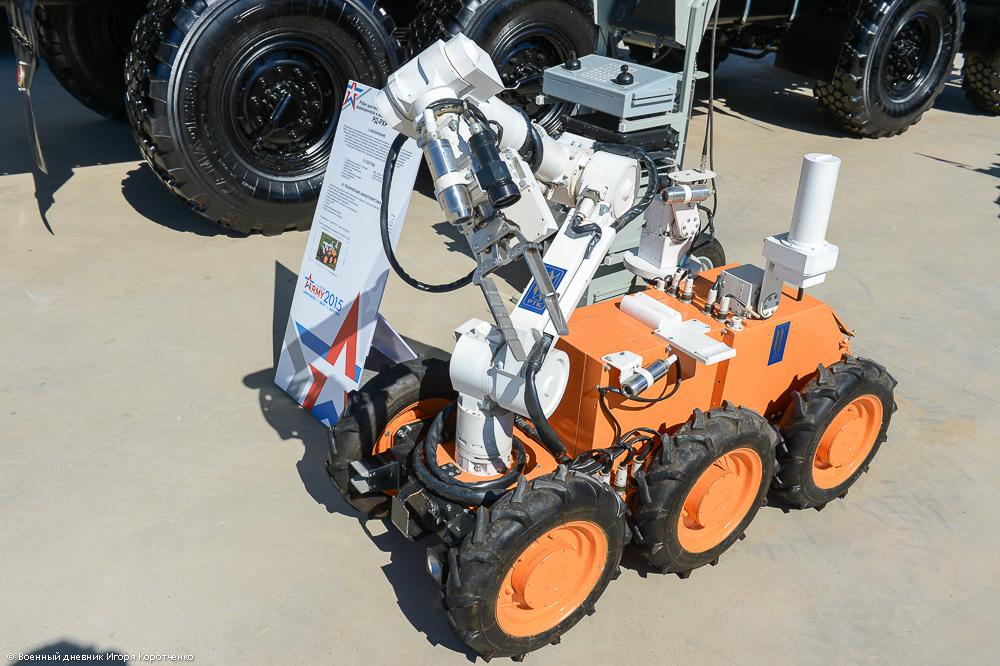 Для войск РХБЗ создадут новый роботехнический комплекс