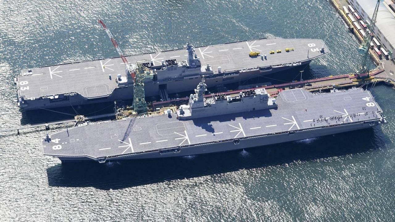 Японские авианосцы не представляют опасности для России