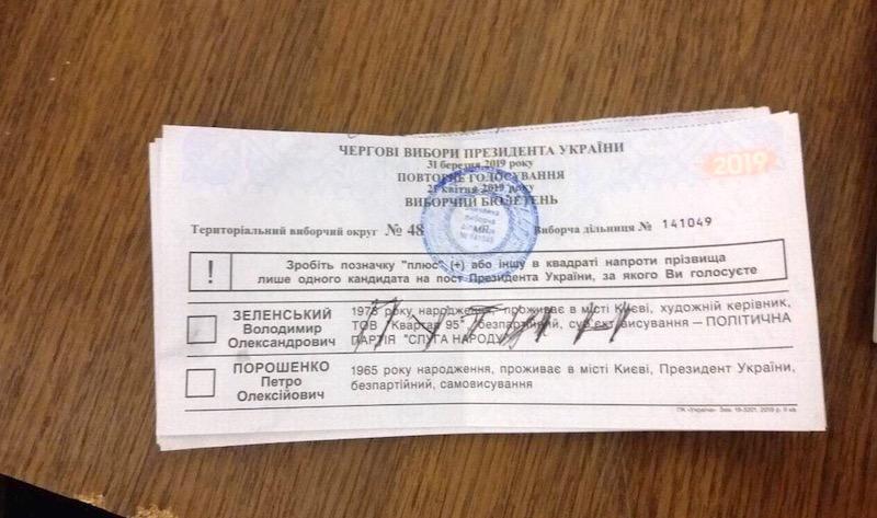На выборах президента украинцы голосовали за Путина