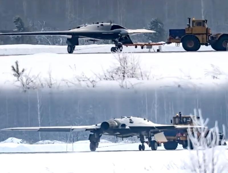 В России завершается создание тяжелого ударного беспилотника «Охотник»