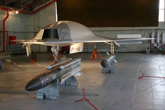 В России возобновили работы по созданию ударного беспилотника «Скат»