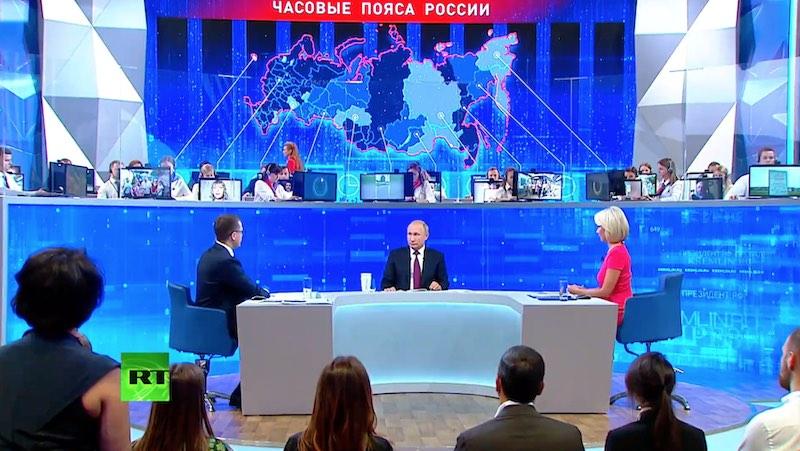 Прямая линия с Владимиром Путиным 20 июня 2019 года (Видео)
