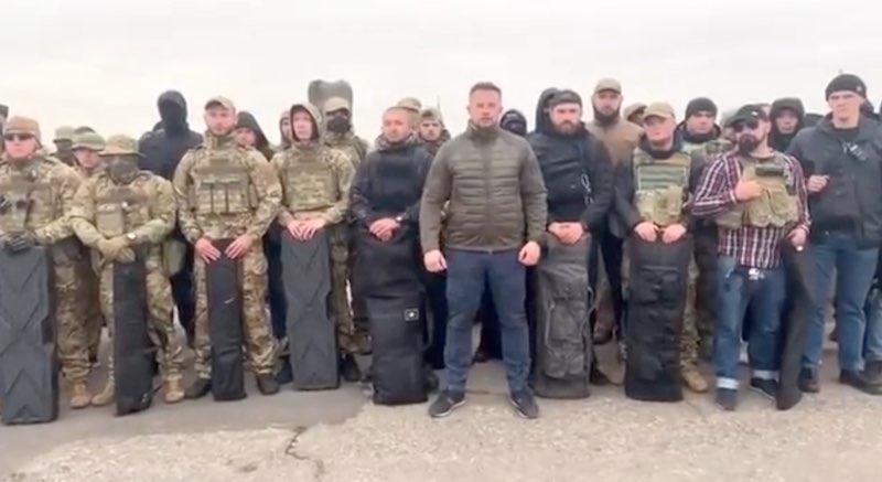Карательный батальон «Азов» отказался покидать линию разграничения в Донбассе