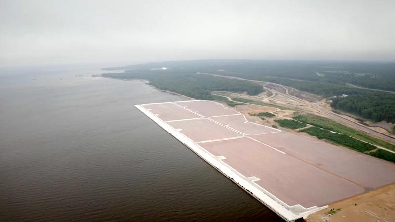 Lugaport станет крупнейшим морским терминалом в мире