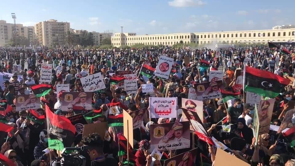 Народ Ливии требует, чтобы войска Турции покинули территорию суверенной страны