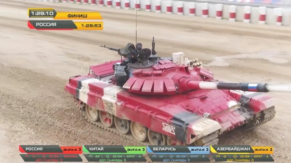 Россия стала победителем «Танкового биатлона-2020»