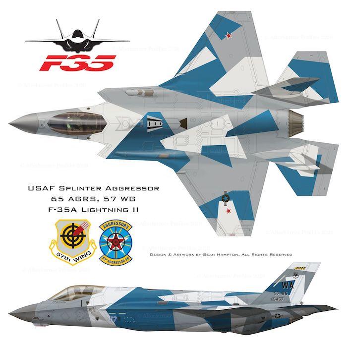США раскрашивают камуфляж F-35 под российские самолеты