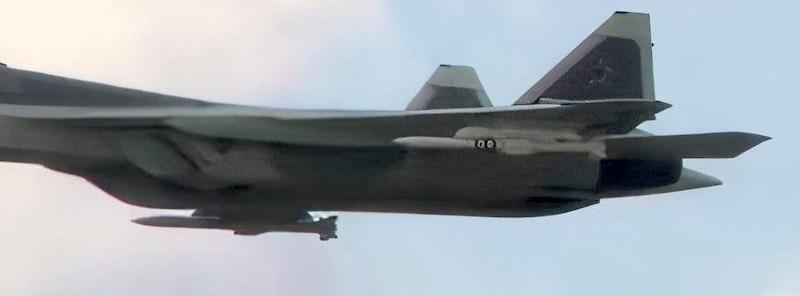 Су-57 оснастили новой ракетой К-77 класса воздух-воздух