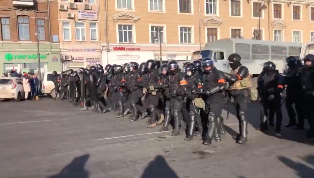 ОМОН предотвратил госпереворот в России 23 января