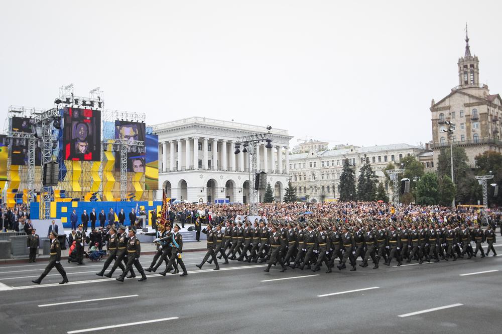 Минобороны Украины приказало ВСУ поменять строевой шаг