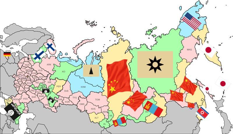 План Запада предусматривает распад России на моноэтнические государственные образования