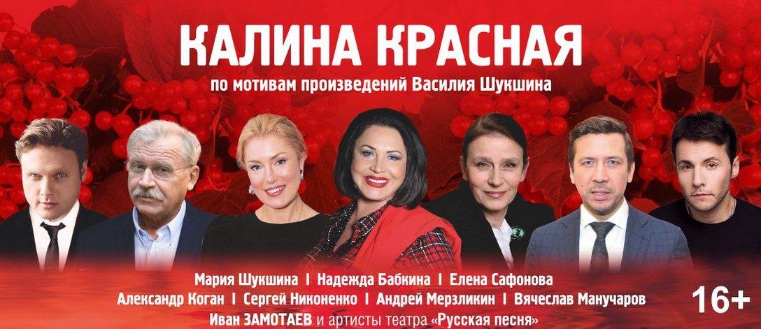 Александр Коган в постановке «Калина красная»  театра «Русская песня»