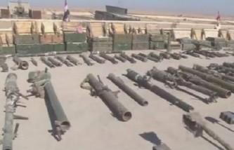 Новости Сирии: в Меядине обнаружен склад брошенного террористами оружия